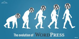 The evolution of WordPress
